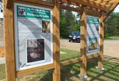 Group of Seven Outdoor Exhibit & Mural