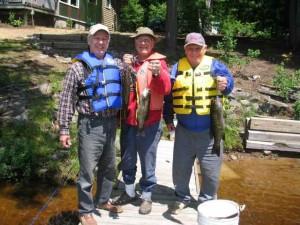 Al  Leif  and  Bill   fishing