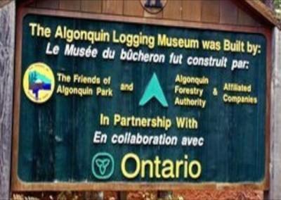 Algonquin Logging Museum & Trail
