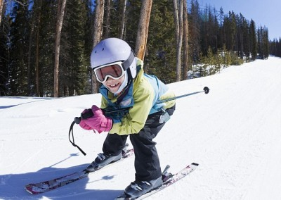 Down-Hill Skiing