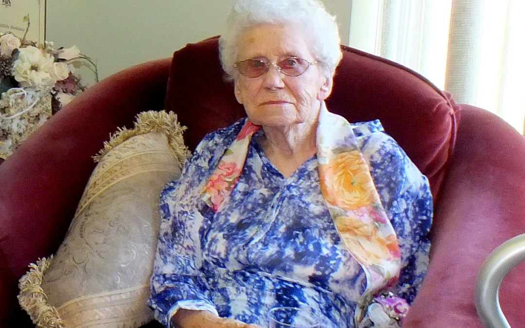 We Say Goodbye to a Centenarian – Mildred Smith