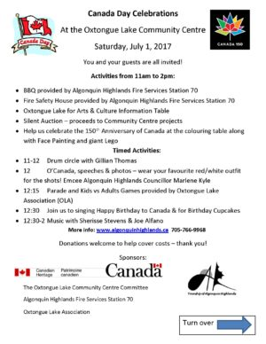 2017 Poster Canada Day OLCC
